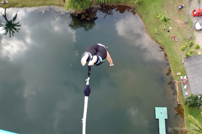 Jungle Bungy Jump in Phuket, Thailand. | qandvictoria.wordpress.com