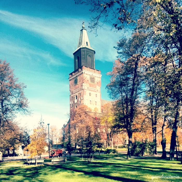 Turku Cathedral in Turku, Finland. | qandvictoria.wordpress.com