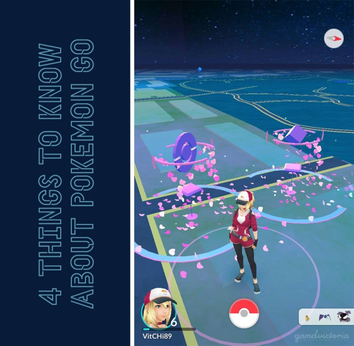 4 things to know about Pokémon Go. | qandvictoria.wordpress.com