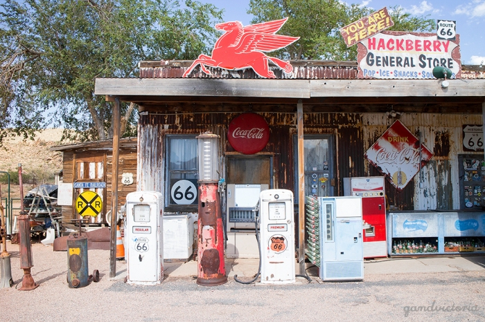 Hackberry General Store, Arizona. | qandvictoria.wordpress.com